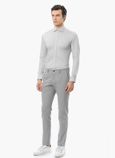 Super Slim Fit Gömlek-Network